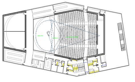 university auditorium plan college auditorium hall architecture layout plan details