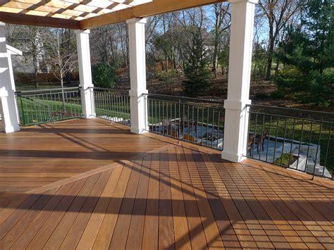wood deck installation ipe wood decking installation home design ideas