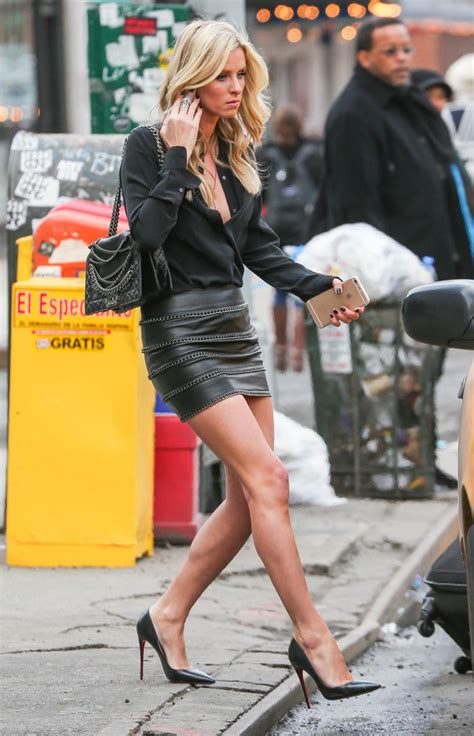 Ossa Blouse Ab nicky catching a cab in new york city leather