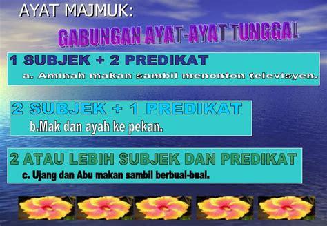 ayat ayat cinta 2 di malaysia subjek bahasa melayu tatabahasa ayat majmuk