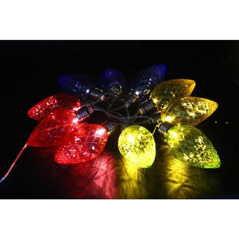 decorative led lights for home alpine 10 light led light bulbs with multi color