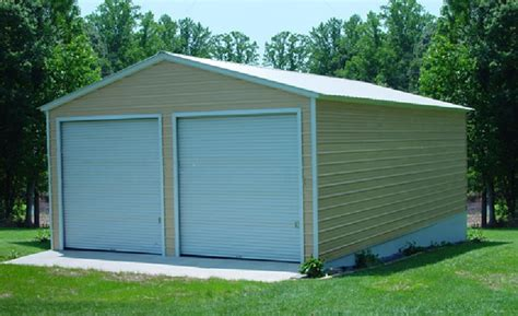 building a 2 car garage steel buildings metal garages building kits prefab prices