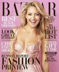Hudson On The Cover Of Magazine by Kate Hudson Covers S Bazaar December January 2013