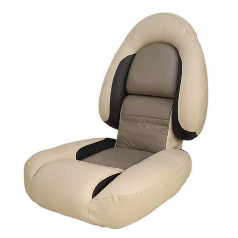 crestliner 2077066 pro black taupe vanilla boat folding - Crestliner Boats Seats