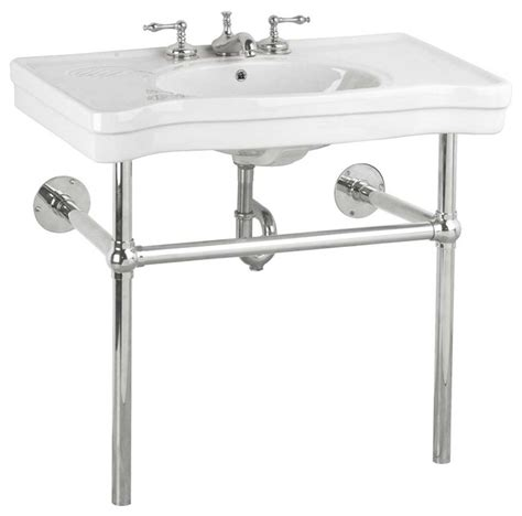 chrome legs for wall mount the renovator s supply inc console sinks white china