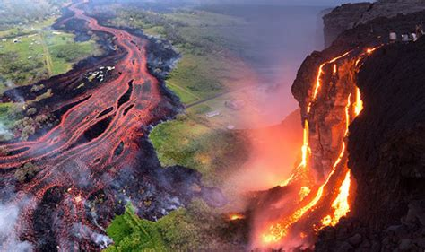 hawaii volcano mount kilauea eruption latest pictures