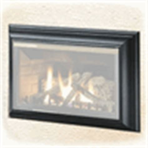 napoleon three sided painted black napoleon gdizc direct vent gas fireplace insert gdizc nsb
