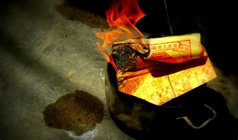 new year money burning why burn hell money on of lunar new year