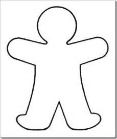 person template preschool blank handprint template clipart best