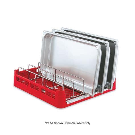 Dishwasher Racks by Vollrath 52665 Open End Dishwasher Rack Insert Chrome