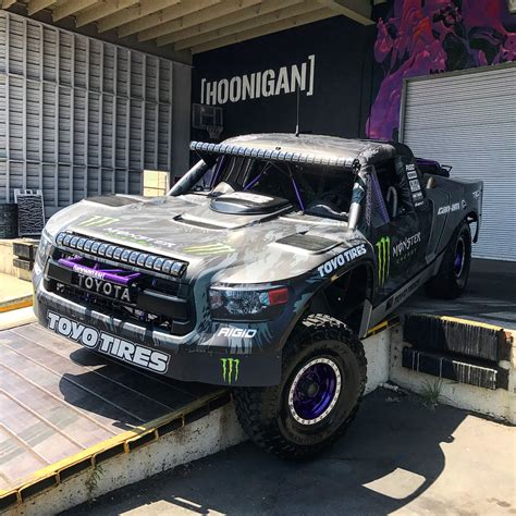 hoonigan truck bj baldwin unleashed his 800hp trophy truck on hoonigan s
