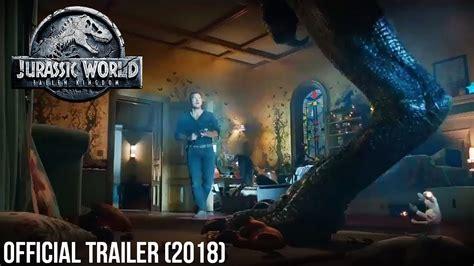 blue trailer official jurassic world fallen kingdom bowl trailer