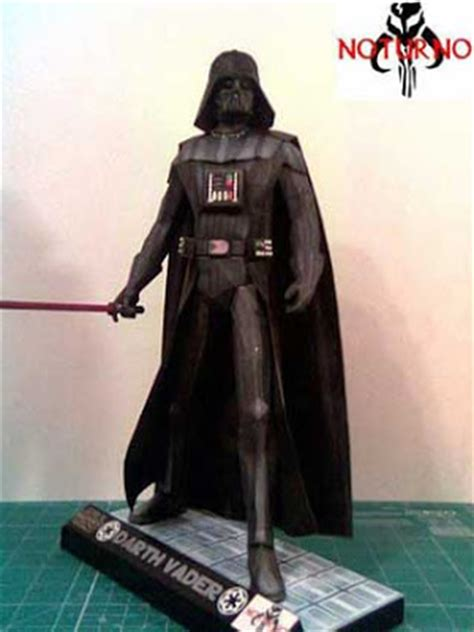 Papercraft Darth Vader - darth vader papercraft lord of the sith