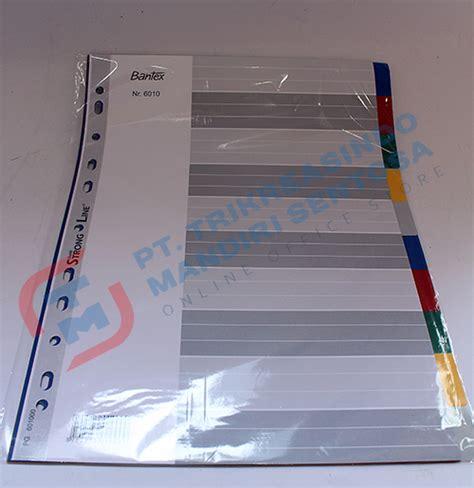 Bantex 6050 Pembatas Binder dokumentasi file