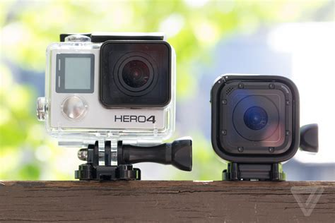 Go Pro Hero4 gopro hero4 session smallest and lightest to