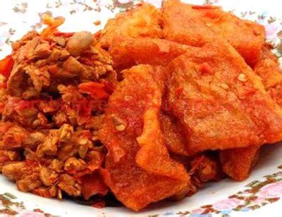 Krecek Rambak Sapi Khas Tulungagung cara membuat sambal goreng krecek jogja resep masakan indonesia