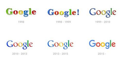 google design history how new google logo will change old design rules