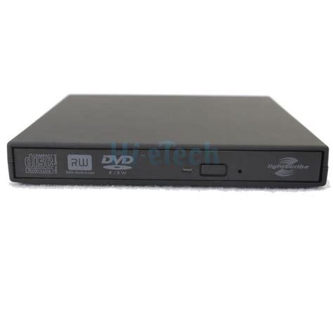 Diskon Dvd Rw Pc usb 2 0 lightscribe dvd rom cd rw dvd rw burner external drive for pc laptop ebay