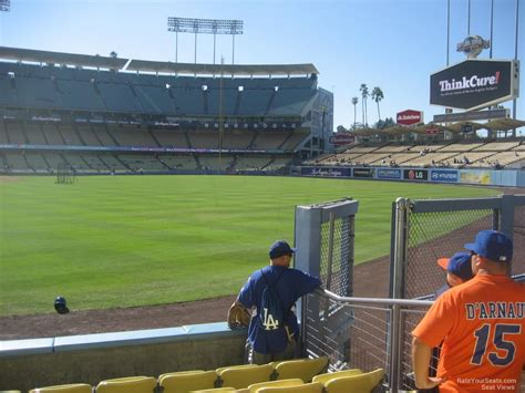 what is a section 52 dodger stadium section 52 rateyourseats com