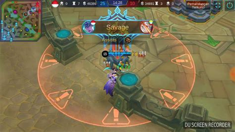 karie mobile legend savage with karie maniac moba mobile legends