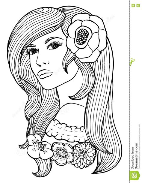 coloring hair hair coloring book coloring pages