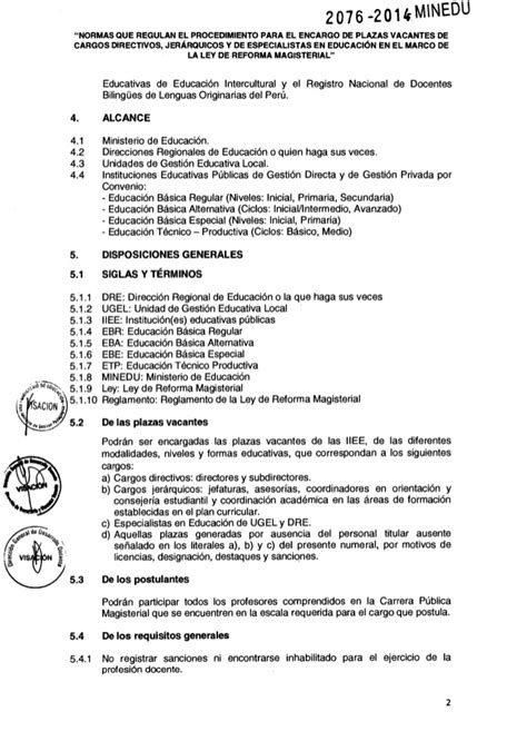 norma para proceso de encargatura de plazas de director encargatura de plazas de director jerarquicas y