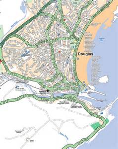 map of douglas isle of