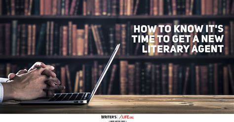 how to it s time to get a new literary writer