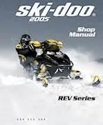 2005 Ski Doo Rev Series Shop Manual 9 95