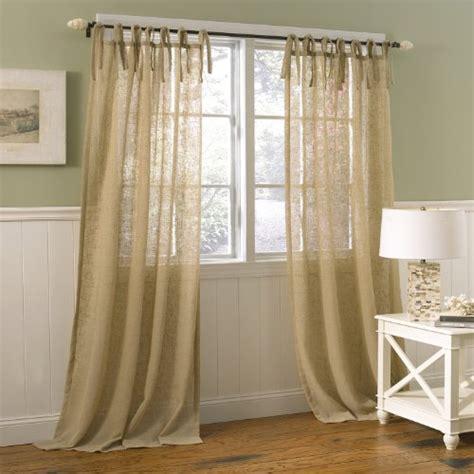 Window Treatment Sale Danbury Tie Top Window Treatment Panel 40 By