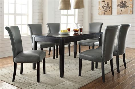 Grey Dining Room Furniture Coaster Newbridge Gray 7pc Dining Room Set Dallas Tx Dining Room Sets Furniture Nation