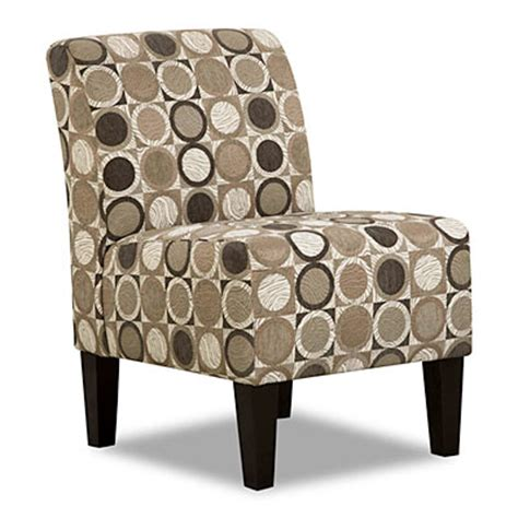 Big Accent Chairs by View Simmons 174 Armless Accent Chair Patchouli Pewter