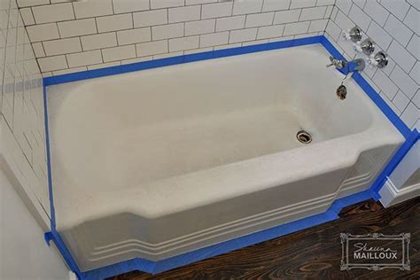 bathtub resurfacing diy diy bathtub refinishing for the home pinterest