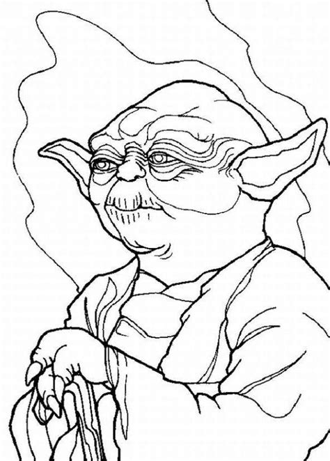 coloring page yoda star wars yoda coloring pages coloring home