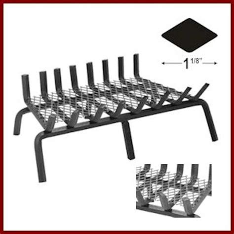 Heavy Duty Fireplace Grate by Heavy Duty Grate With Ember Enhancer Northshore