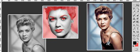 colorize photos colorize a black and white image photoshop tutorial
