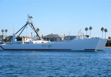 google boat google yacht just sits there year after year as seen