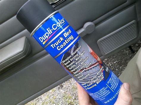 has anyone used spray can bedliner on bumpers jeep