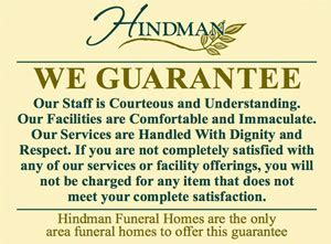 hindman funeral homes crematory inc serving