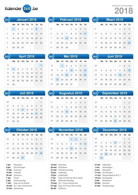 Kalender Tot 2018 Kalender 2018