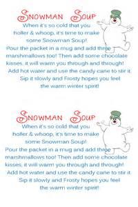 Snowman soup printable tags search results calendar 2015