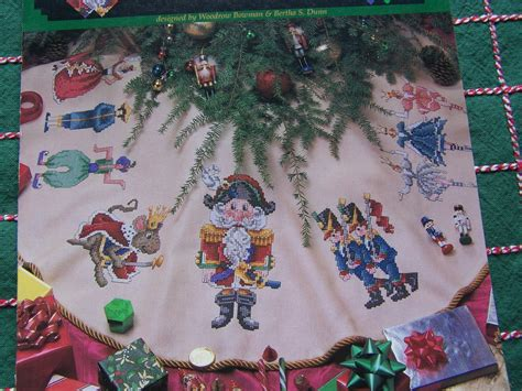 new 1990s counted cross stitch patterns nutcracker