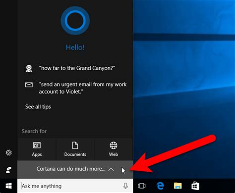 cortana let me see you how to use cortana with a local user account in windows 10