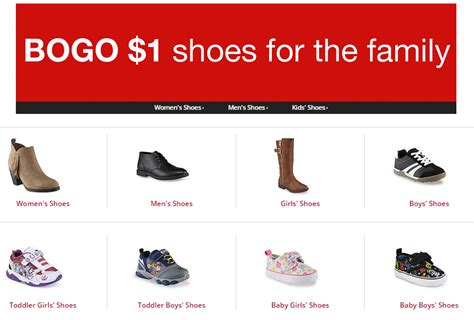 bogo shoes kmart bogo 1 shoes sale