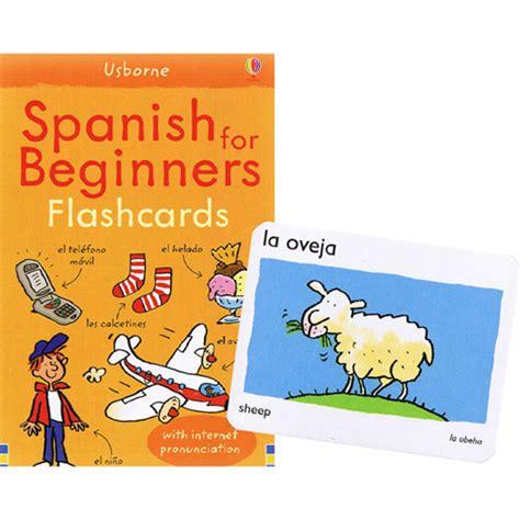 spanish for beginners usborne usborne spanish for beginners flashcards little linguist
