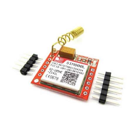 Jual Alarm Motor Gsm jual modul gsm band sms gprs sim800l