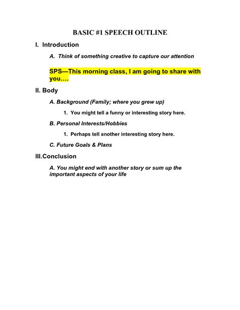 Basic Essay Outline Format by Best Photos Of Basic Outline Format Template Essay Outline Exle Basic Apa Outline