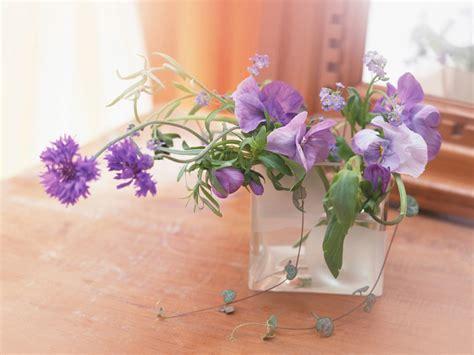purple flowers bouquet in vase wallpaper free hd i hd images