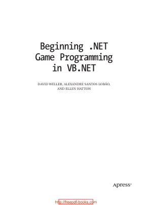 programming vb net pdf beginning net game programming in vb net free pdf books