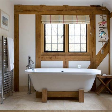 pictures of country bathrooms you can even get your claw foot bathtub with wooden block